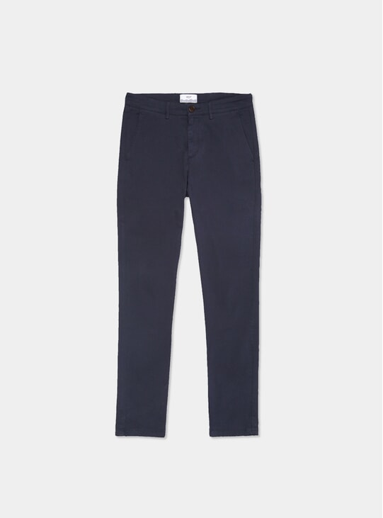 Navy Strood Trousers