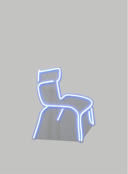 Ecole 65cm x 40cm LED Neon Sign by Clara Bergel