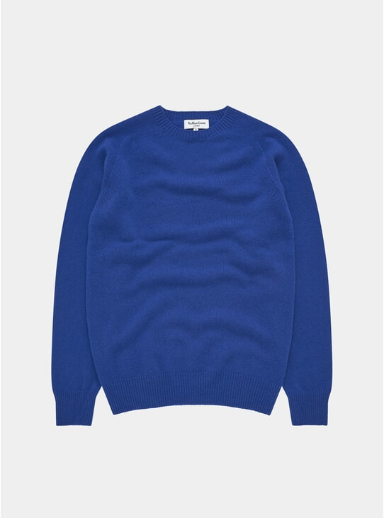 Blue Luddites Crew Neck
