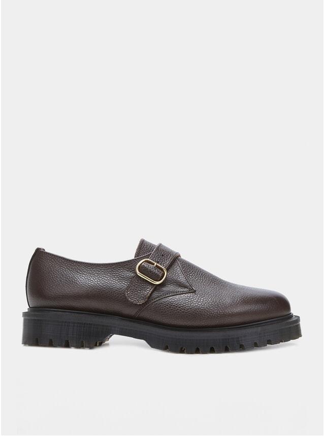 Walnut Monk Shoe