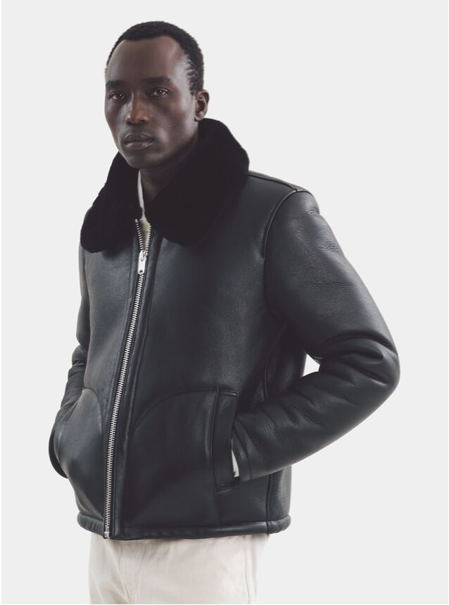 Black Budgie Zip Jacket