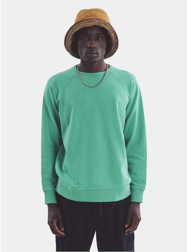 Green Schrank Raglan Sweatshirt