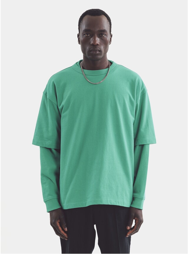 Green Triple SS T Shirt