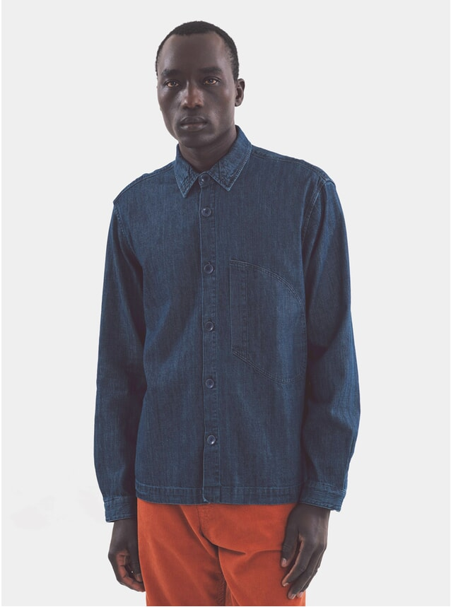 Indigo D Pocket Shirt