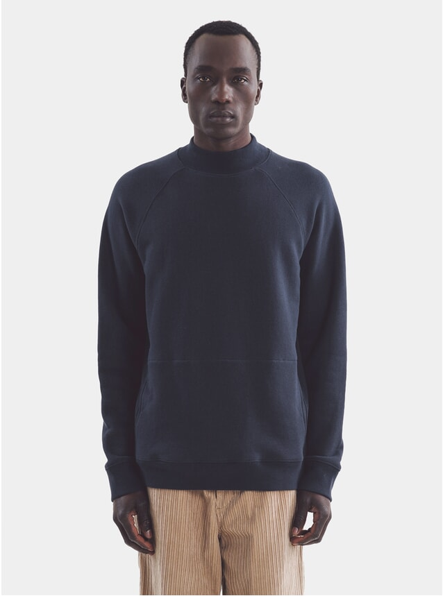 Navy Touche Pocket Sweatshirt