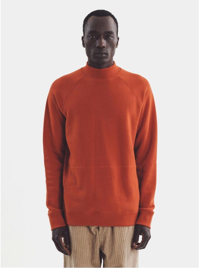 Rust Touche Pocket Sweatshirt