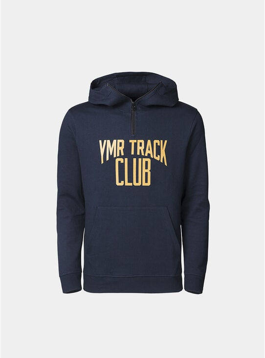 Navy Track Attack Hoodie