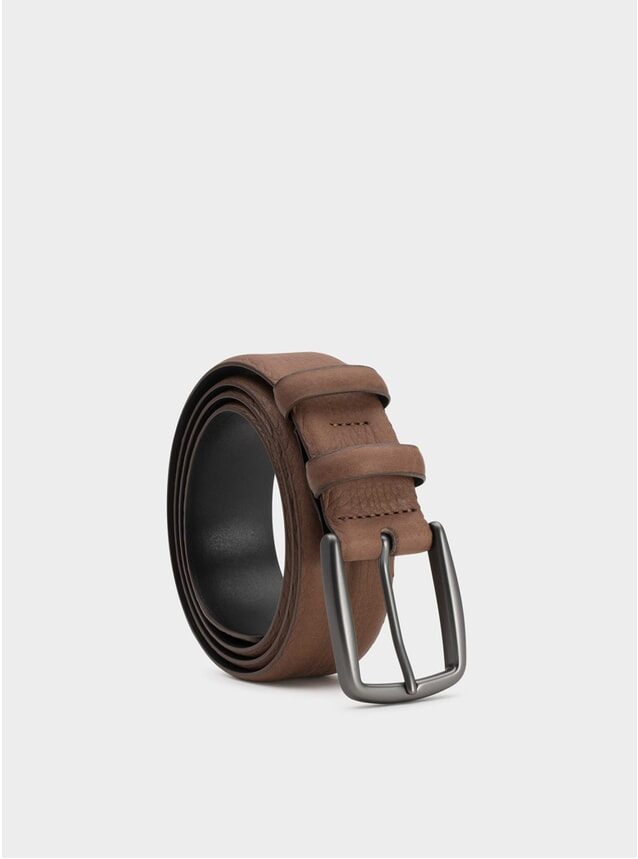 Brown Matthieu Leather Belt