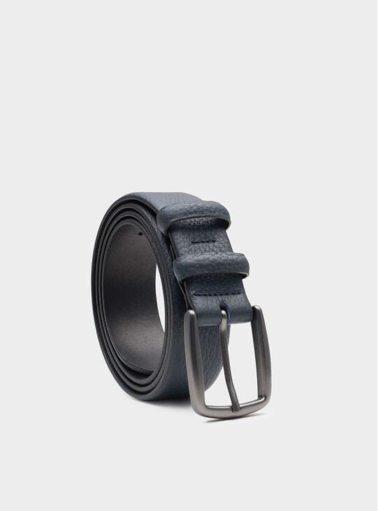 Blue Rémy Leather Belt