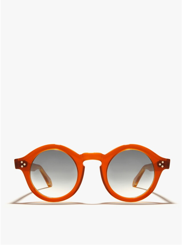 Orion Orange Sunglasses