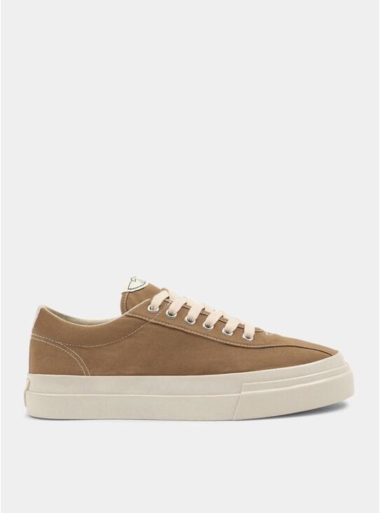 Desert Dellow Canvas Sneakers