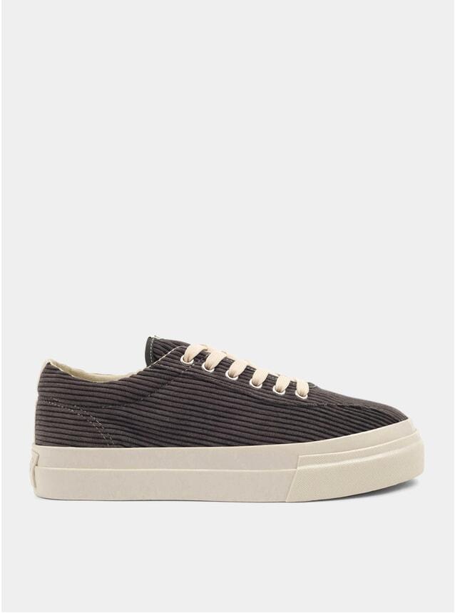 Grey Dellow Cord Sneakers