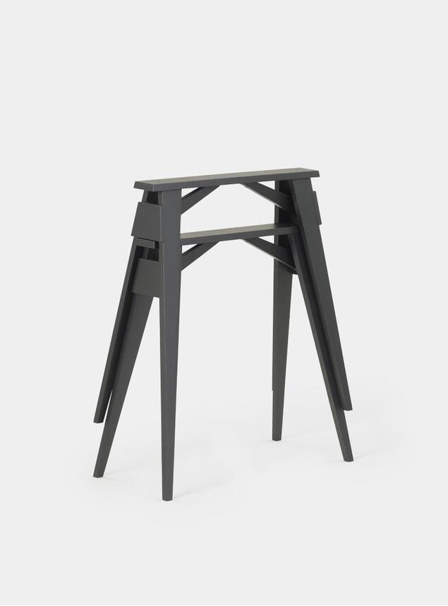Black Arco Desk Trestles Set of 2
