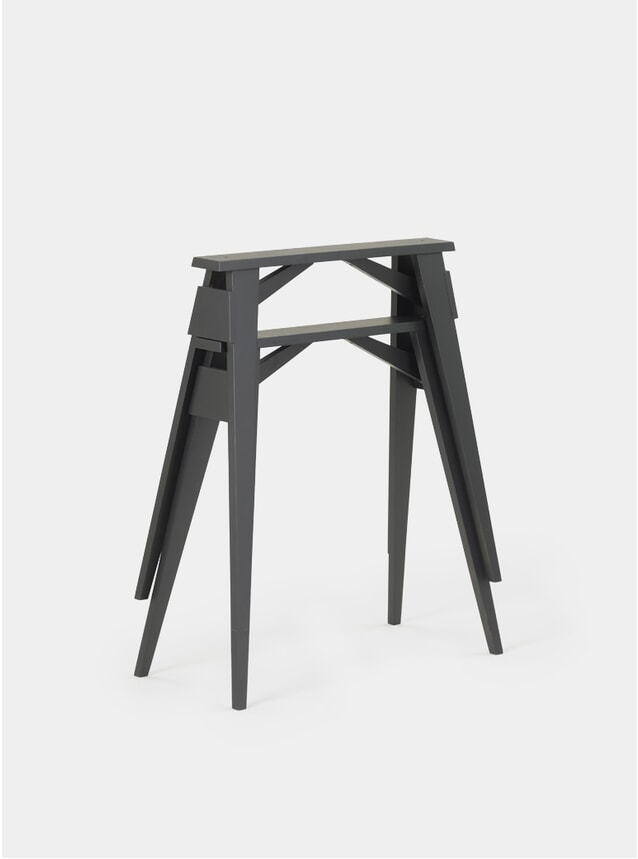 Black Arco Desk Trestles Set of 2