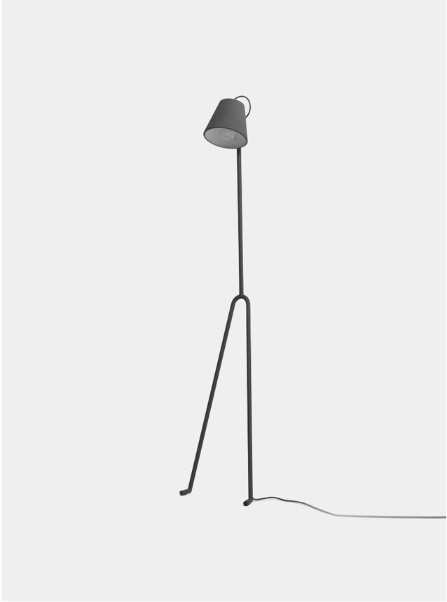 Dark Grey Manana Floor Lamp