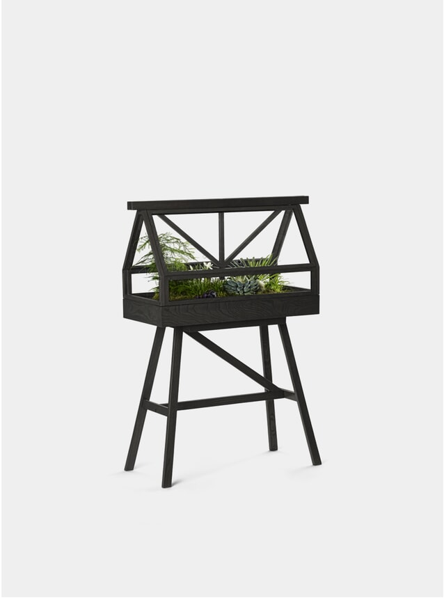 Dark Grey Greenhouse