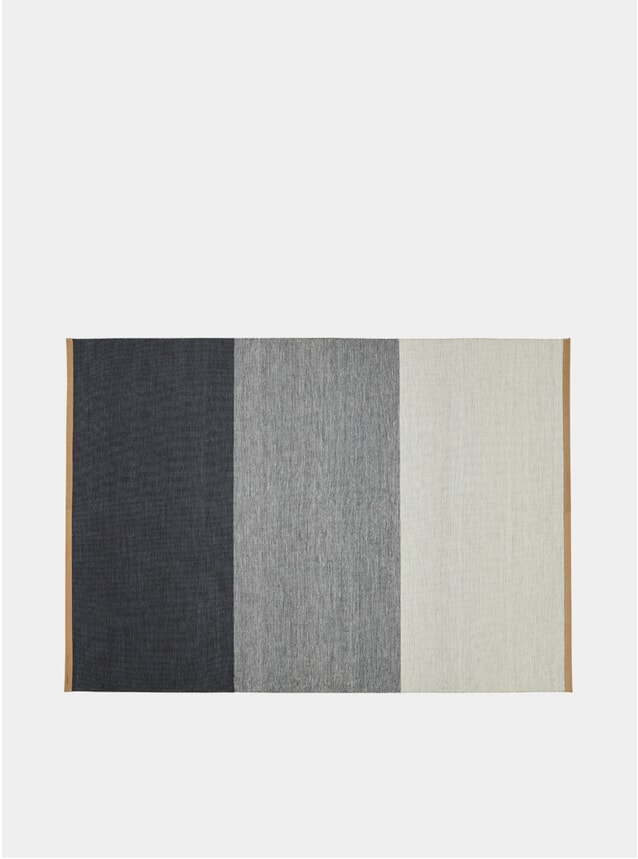 Large Blue / Grey Fields Rug