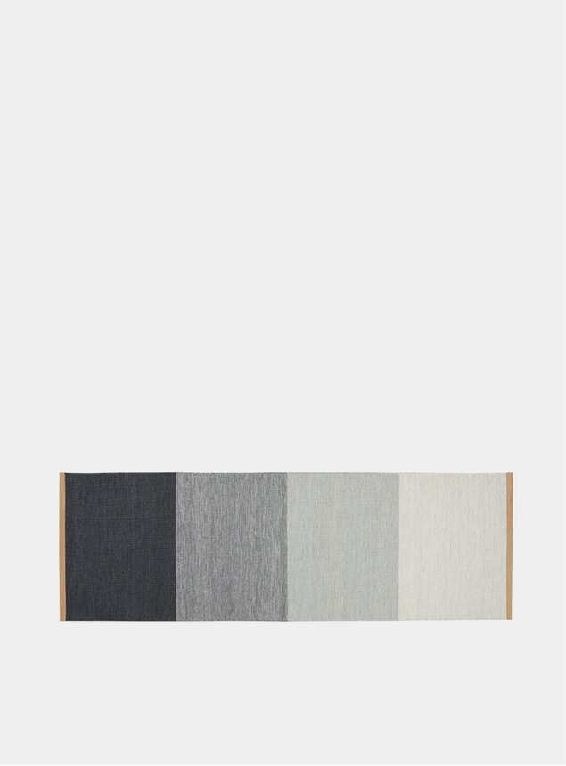Medium Blue / Grey Fields Rug