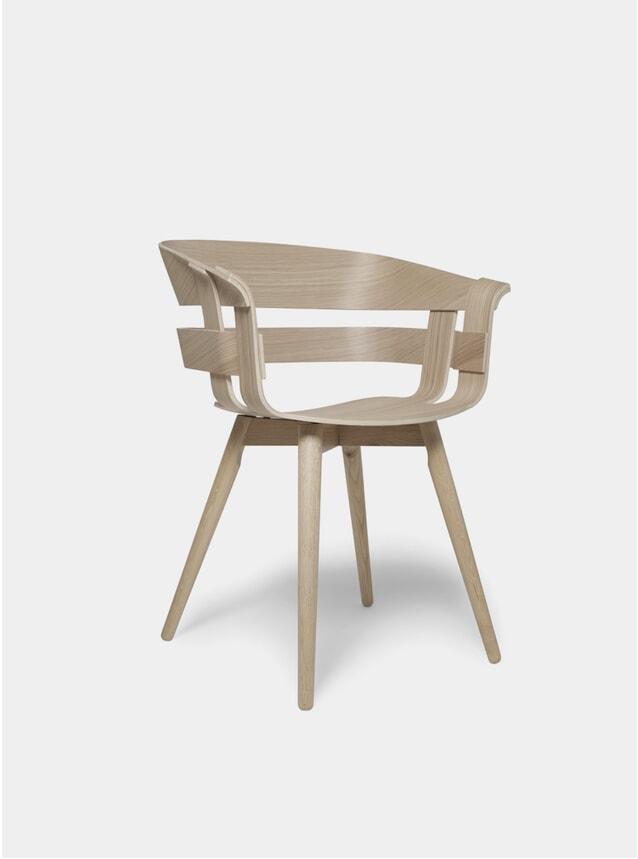 Oak Wick / Wooden Chair