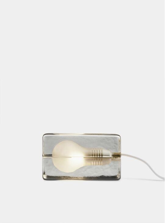 White Block Lamp