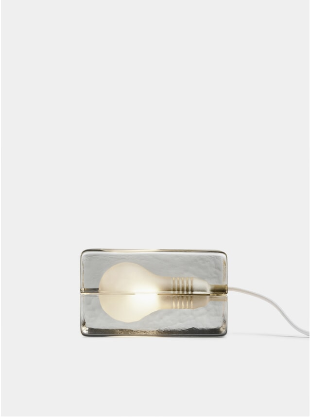 White Block Lamp