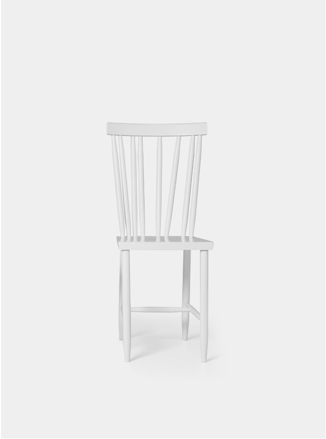 White Family No.4 Dining Chair
