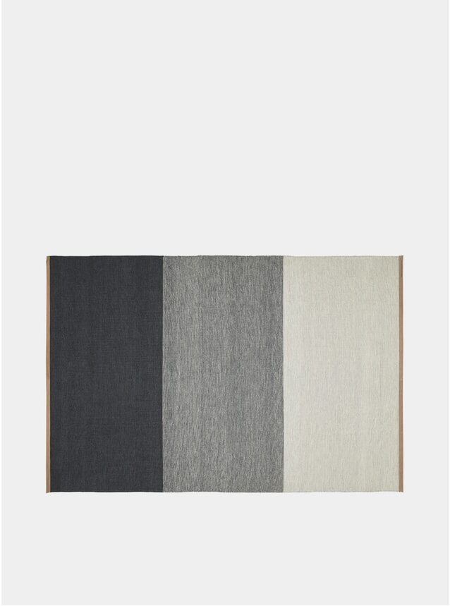 X-Large Blue / Grey Fields Rug