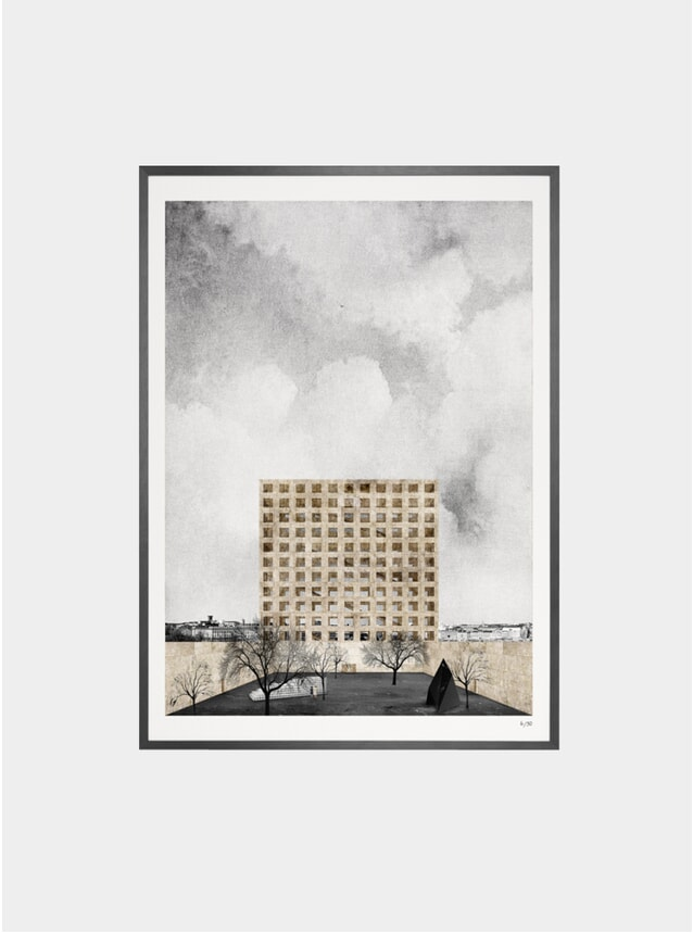 Guggenheim Helsinki Collage Print