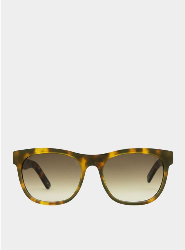 Beach Lemonaded / Gradient Brown Los Angeles Sunglasses