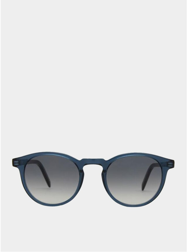Blue Lagoon / Grey Gradient Seattle Sunglasses