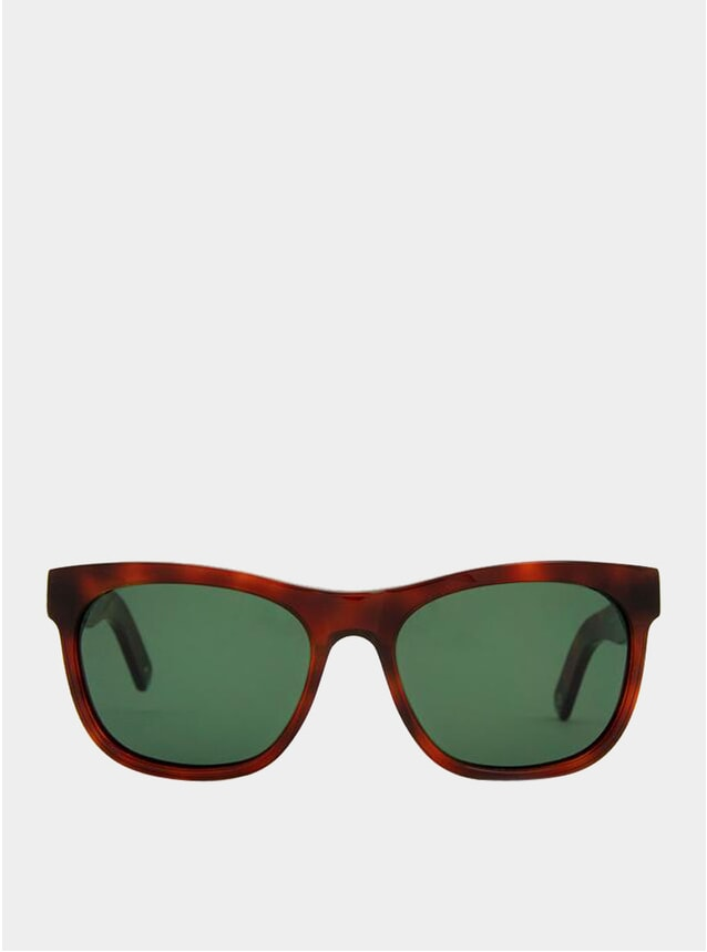 Brown Havana / Green Los Angeles Sunglasses