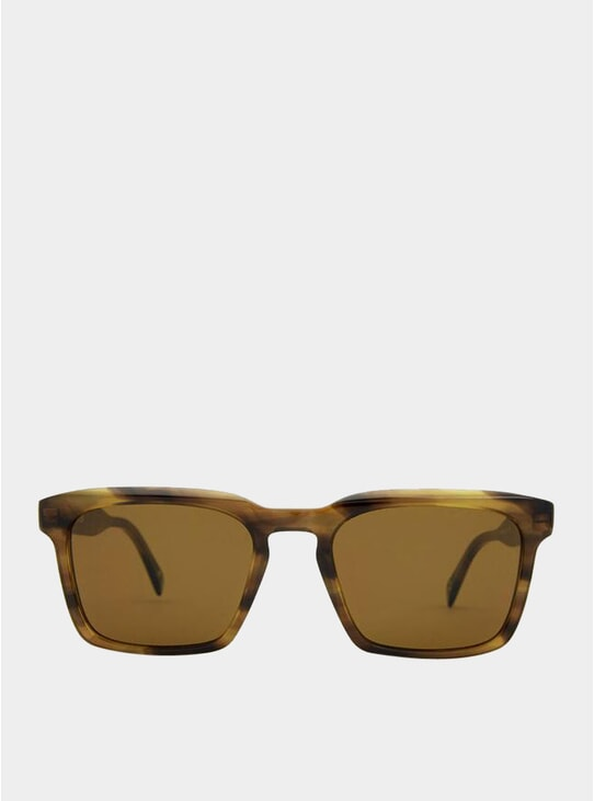 Brown Pebbles / Grey Warsaw Sunglasses