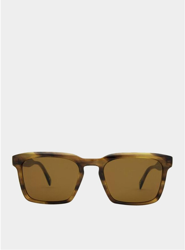 Brown Pebbles / Grey Warsaw Sunglasses