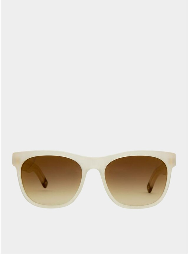 Chalk / Gradient Brown Los Angeles Sunglasses