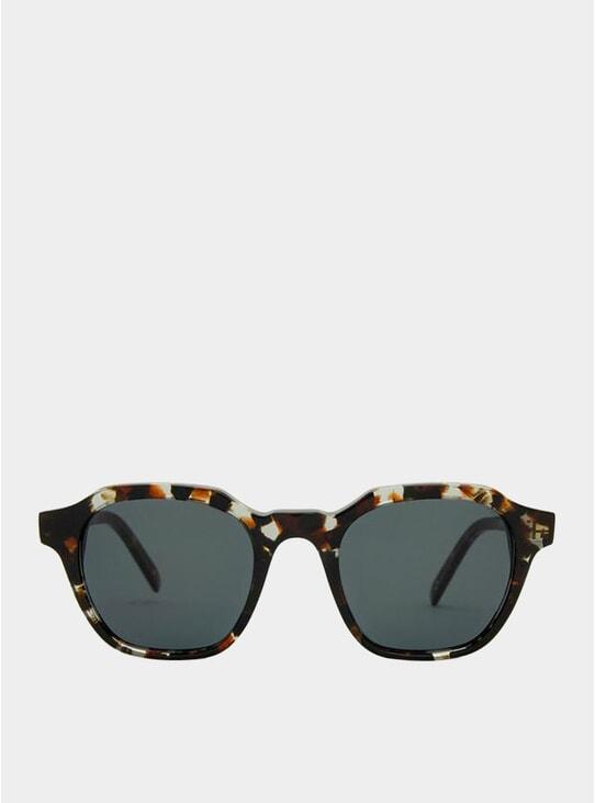 Crystal Havana / Grey Barcelona Sunglasses