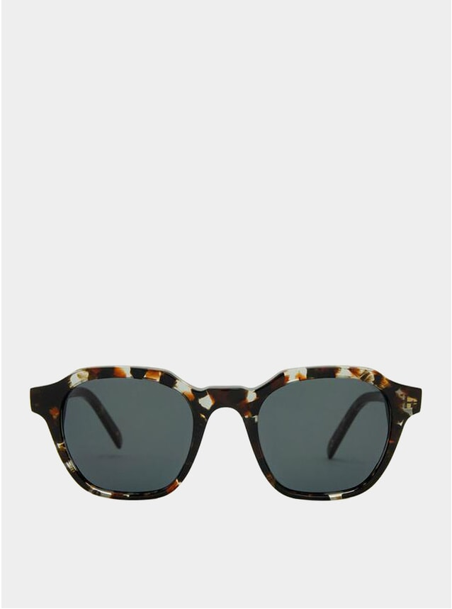 Crystal Havana / Grey Barcelona Sunglasses