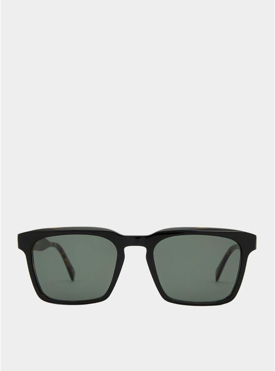 Laminated Havana / Grey Warsaw Sunglasses