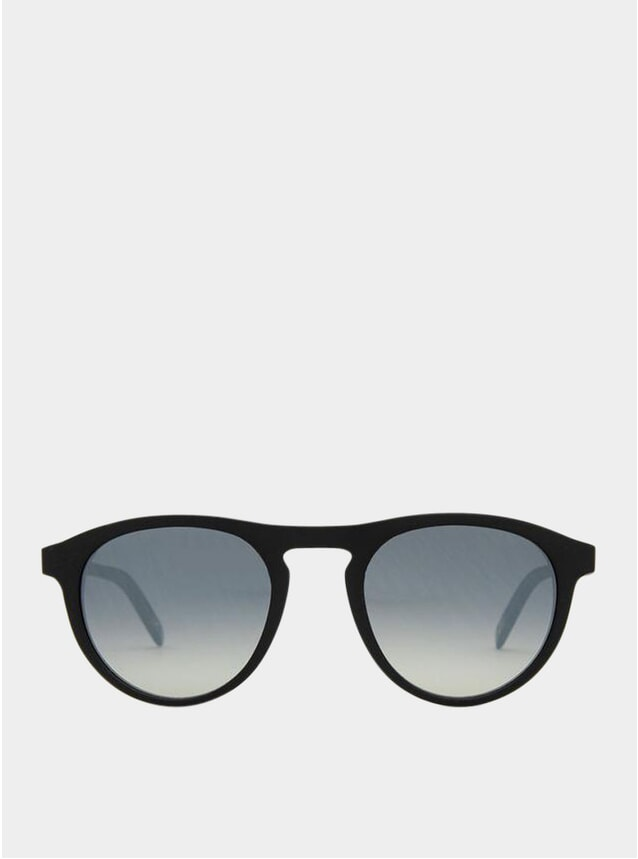 Matte Recycled Black / Grey Gradient Biarritz Sunglasses