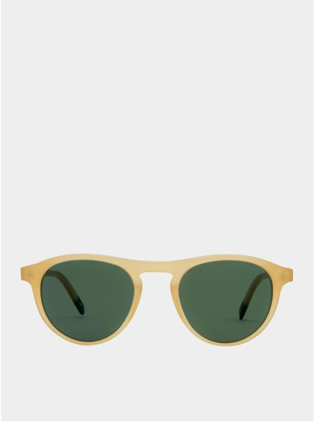 Sand / Green Biarrritz Sunglasses