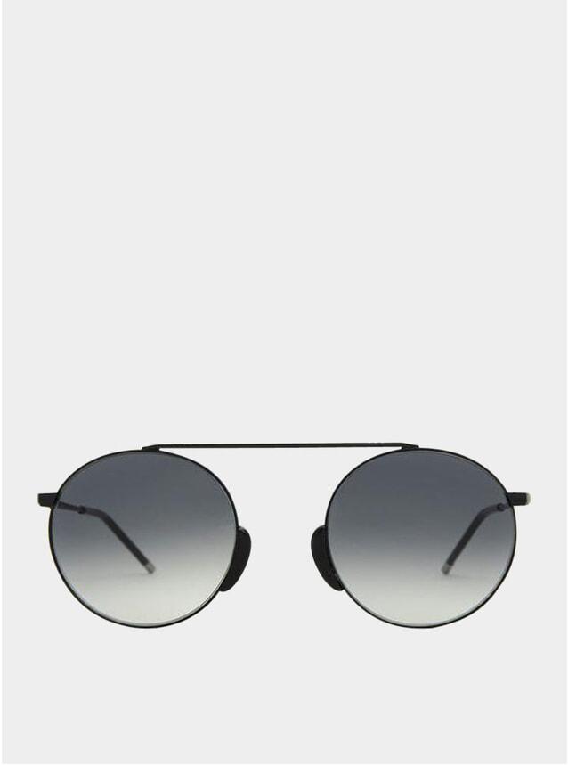 Satin Anthracite / Grey Bern Sunglasses