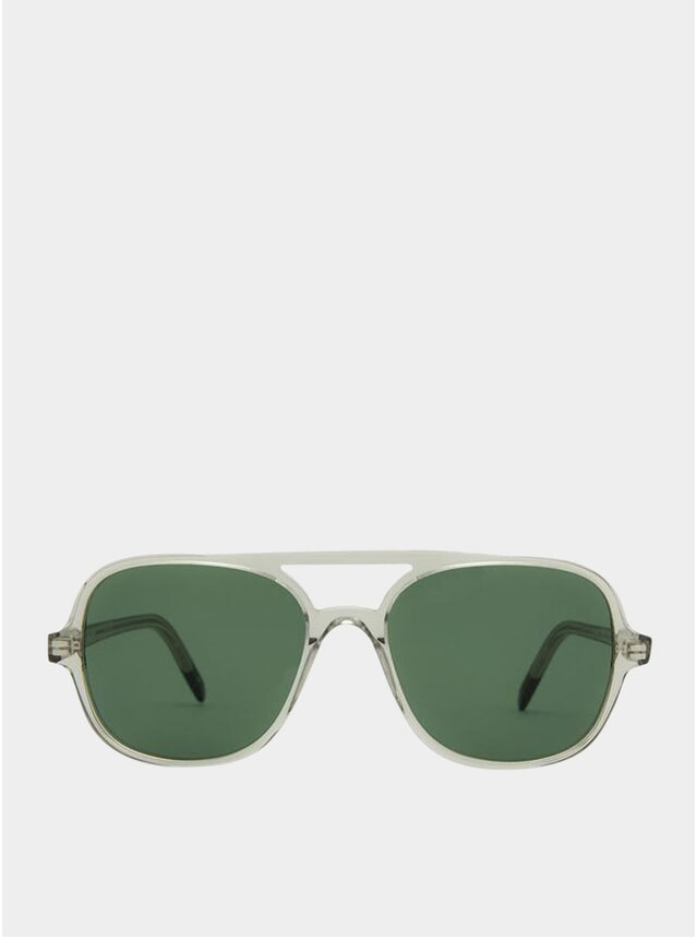 Smoke / Green Hannover Sunglasses
