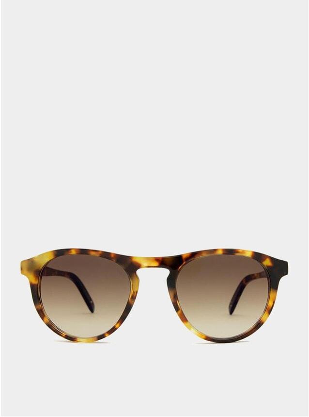 White Havana / Brown Gradient Biarritz Sunglasses