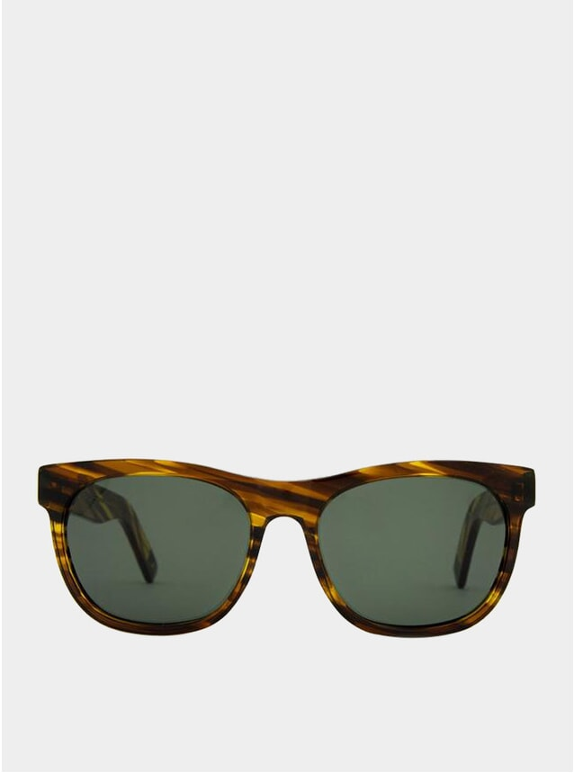 Yellow Grass / Green Los Angeles Sunglasses
