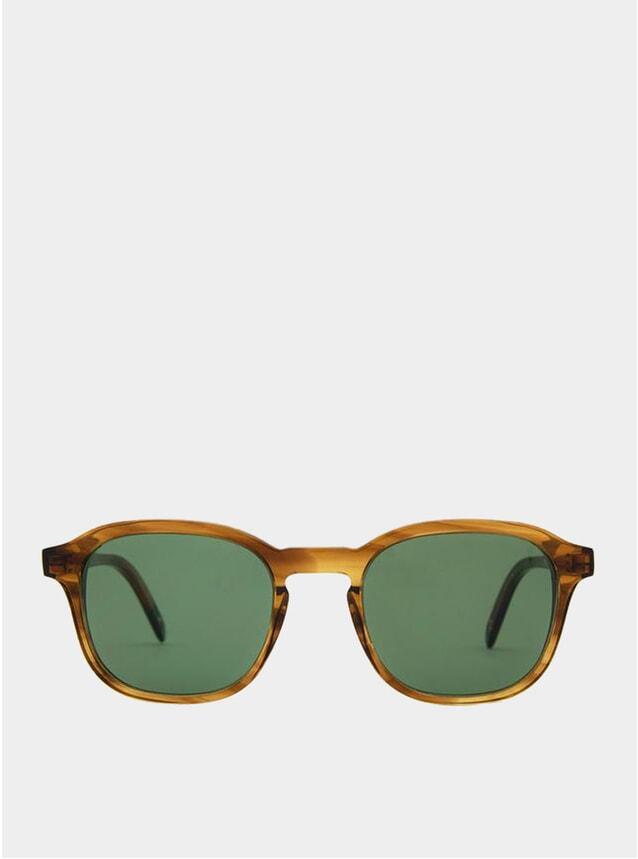 Yellow / Green Lisbon Sunglasses