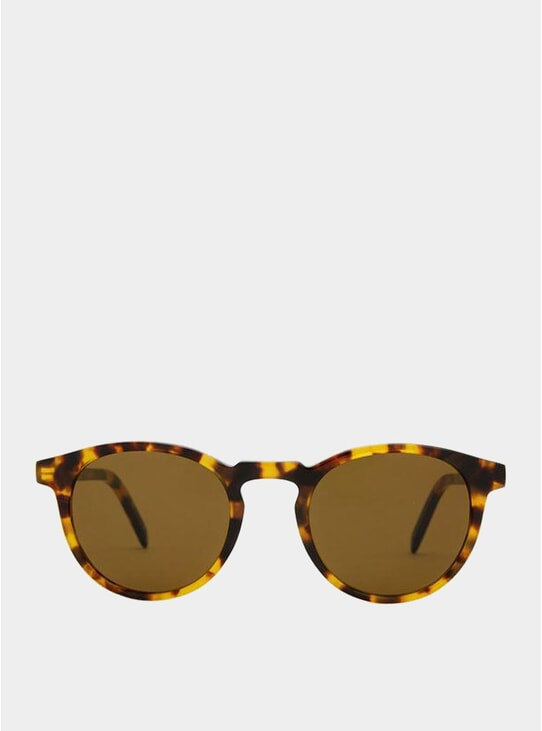 Yellow Havana / Brown Seattle Sunglasses