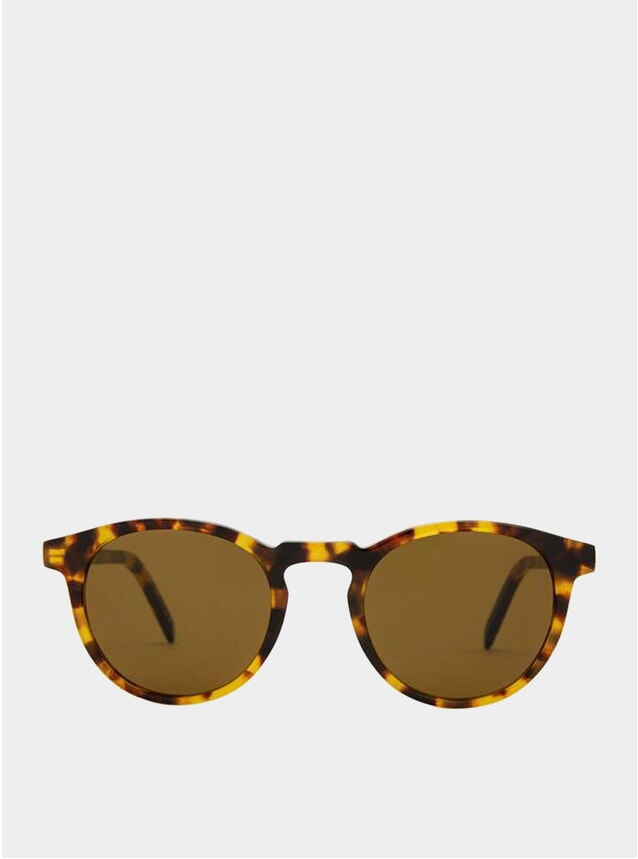 Yellow Havana / Brown Seattle Sunglasses