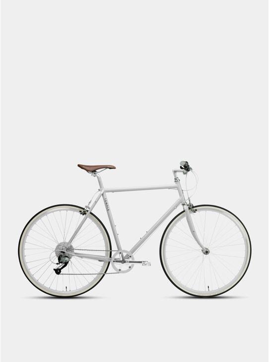 Dove Grey Classic Lightweight Bike