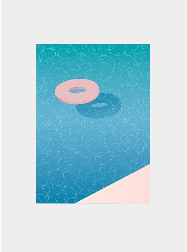 Float - Swimming Pool Art Print
