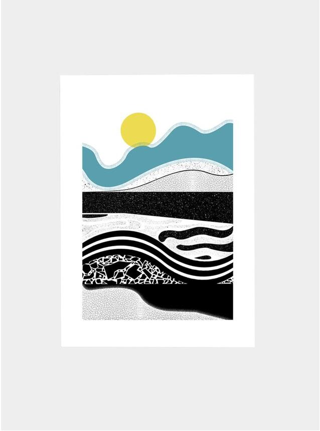 Seaform Art Print