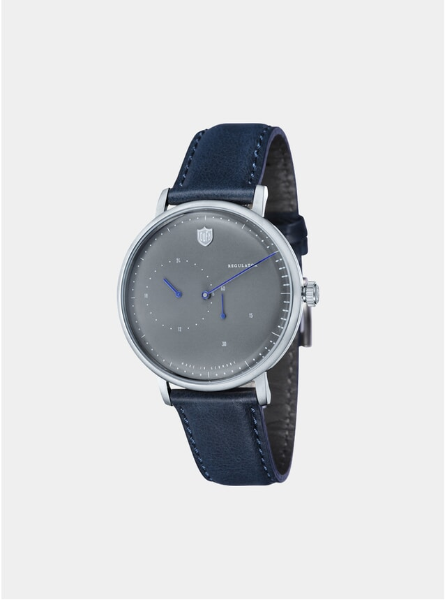 Aalto Automatic Regulator Navy / Grey Watch